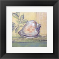 Tranquil Seashells I - Mini Framed Print