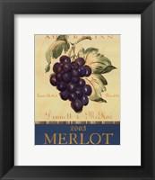 Framed Merlot - Mini