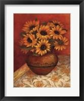 Framed Tuscan Sunflowers I