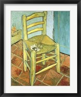 Framed Van Gogh's Chair