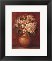 Framed Tuscan Hydrangeas - Mini