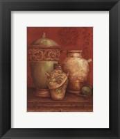 Framed Tuscan Urns I - Petite