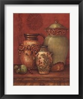 Tuscan Urns II - Mini Framed Print