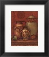 Tuscan Urns II - Petite Framed Print