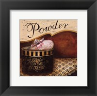 Powder - Mini Framed Print