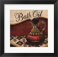Bath Oil Framed Print