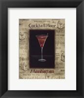 Manhattan - Mini Framed Print