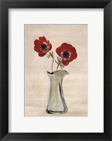 Framed Two Anemones - Special
