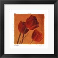 Red Gold I - Mini Framed Print