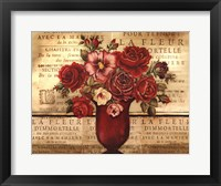 Paris Rose II Framed Print