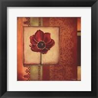Framed Mediterranean Floral II - Mini