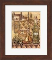 Framed Flavors Of Tuscany I - Mini