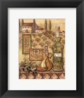 Framed Flavors Of Tuscany I - Mini