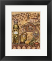 Framed Flavors Of Tuscany II - Mini