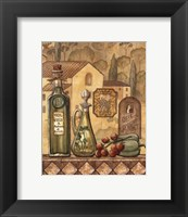 Framed Flavors Of Tuscany III - Mini