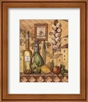 Framed Flavors Of Tuscany IV - Mini