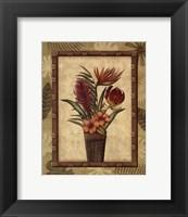 Paradisio Bouquet II - Mini Framed Print
