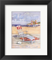 At The Seaside - Mini Framed Print