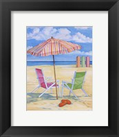 Framed Oceanside III - Mini