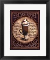 French Coffee - Mini Framed Print