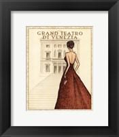 Teatro - Mini Framed Print