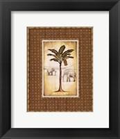 Framed South Palm II - Mini