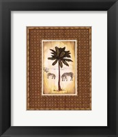 Framed South Palm III - Mini