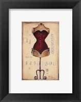Framed Taille De Robe I - Mini