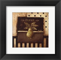 Poire - Square Mini Framed Print