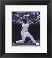 Framed Eddie Murray - 1996 Batting  Action