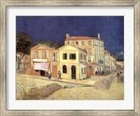 Framed Yellow House, Arles, c.1888