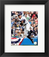 Framed Alex Rodriguez - 2007 Fielding Action
