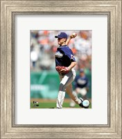 Framed Jake Peavy - 2007 Pitching Action