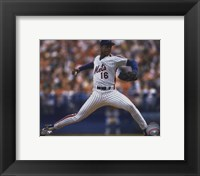 Framed Dwight Gooden - 1988 Action