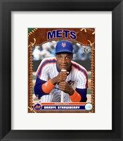 Framed Darryl Strawberry - 2007 Vintage Studio Plus