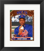 Framed Dwight Gooden - 2007 Vintage Studio Plus