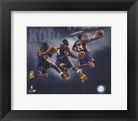 Framed 2007 - Kobe Bryant Multi Exposure