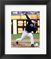 Framed Trevor Hoffman - 2007 Pitching Action