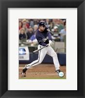 Framed J.J. Hardy - 2007 Batting Action