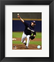 Framed Derrick Turnbow - 2007 Pitching Action