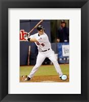 Framed Michael Cuddyer - 2007 Batting Action
