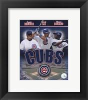 Framed 2007 - Cubs Big 3 Hitters