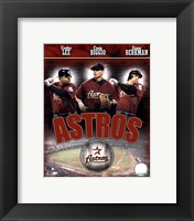 Framed 2007 - Astros Big 3 Hitters