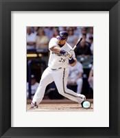 Framed Prince Fielder - 2007 Batting Action
