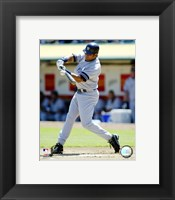 Framed Bobby Abreu - 2007 Batting Action