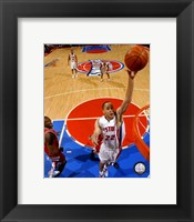 Framed Tayshaun Prince - '07 Playoff Action