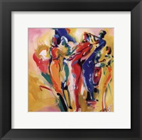 Framed Jazz Explosion I