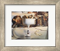 Framed Apparition of Face and Fruit Dish on a Beach, c.1938