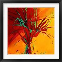 Framed Palmier Jaune 2