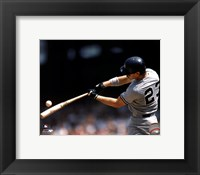 Framed Don Mattingly - 1990 Batting Action